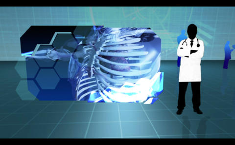 Montage of various body interior clips Animation