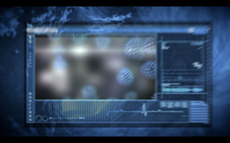 Medical Video Montage On Vein Interior Background stock footage
