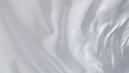 White cloth waving Footage