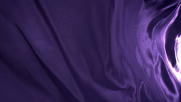 Purple cloth moving Stock Video Footage