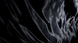 Black silk cloth moving Footage