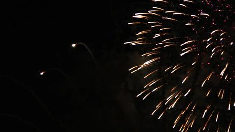 1936 Fireworks, HD Stock Video Footage