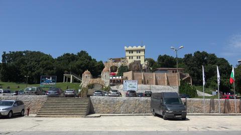 Aquapolis. The Golden Sands resort. Varna. Bulgari Stock Video Footage