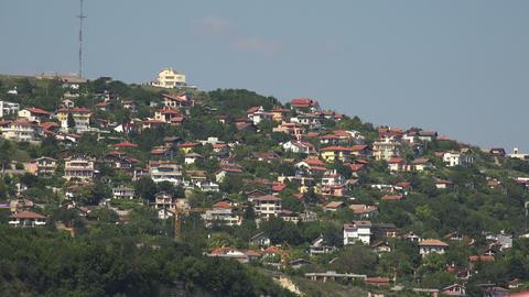 Albena. Resort, Spa in Bulgaria. 4K Stock Video Footage