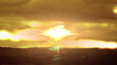 1999 Into Heaven Glowing Sky, HD Footage