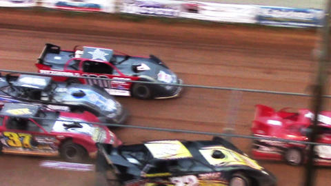 2005 Race Cars Dirt Track Late Models Spin Out Footage
