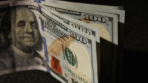 2023 United States one hundred dollar bill, 4K Footage