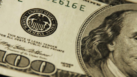 2025 United States one hundred dollar bill, HD Footage