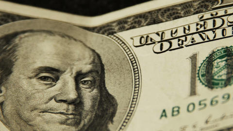 2025 United States one hundred dollar bill, HD Stock Video Footage