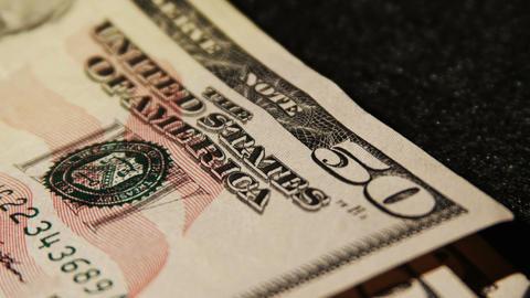 2027 United States fifty dollar bill, 4K Footage