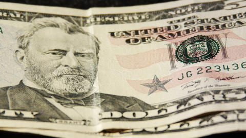 2029 United States fifty dollar bill, 4K Footage