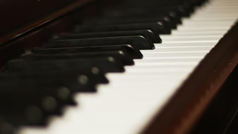 2038 Piano Close Up, HD Footage