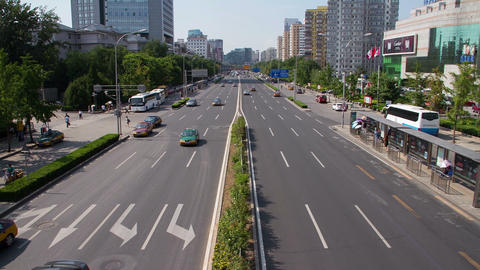 Beijing Street View HD stock footage