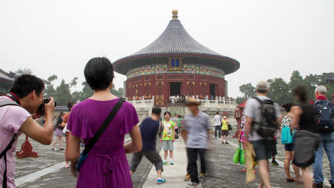 The temple of Heaven at daytime HD Footage