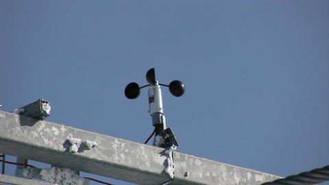 Meter Wind Speed stock footage