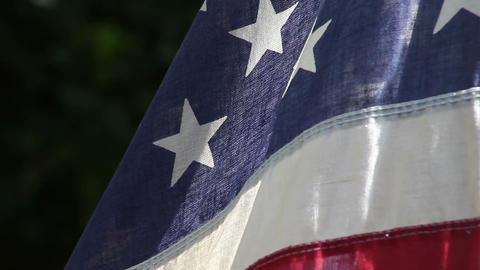 American flag Footage