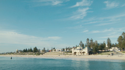 Time Lapse of Cottesloe Beach in Western Australia Footage