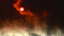 HD2008-12-9-35 Steam cloud obscured sun Footage