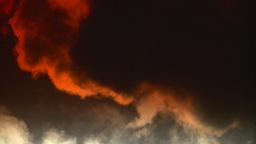 HD2008-12-9-35 Steam cloud obscured sun Stock Video Footage