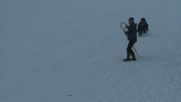 HD2008-12-11-17 tobbagan hill Stock Video Footage