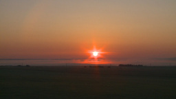 HD2008-7-1-1 sunrise prairie Stock Video Footage