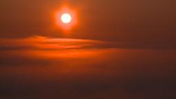 HD2008-7-1-5 sunrise fog Stock Video Footage
