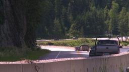 HD2008-7-1-25 summit lake traffic Stock Video Footage