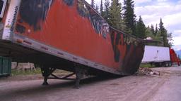 HD2008-7-1-31 semi trailer fire Footage