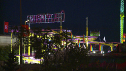 HD2008-7-2-25 midway night Stock Video Footage