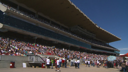 HD2008-7-3-5 Stampede grandstand Stock Video Footage