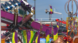 HD2008-7-3-11 midway rides Footage
