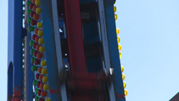 HD2008-7-3-23 midway rides Stock Video Footage