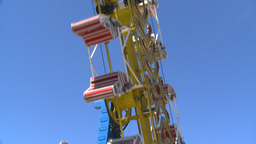 HD2008-7-3-31 midway rides Stock Video Footage