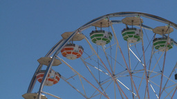 HD2008-7-3-35 midway rides ferris Stock Video Footage