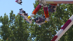 HD2008-7-3-37 midway rides Stock Video Footage