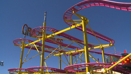 HD2008-7-3-39 midway rides Stock Video Footage