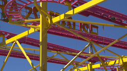 HD2008-7-3-41 midway rides Stock Video Footage