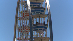 HD2008-7-3-47 midway rides ferris Stock Video Footage