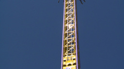 HD2008-7-3-51 midway rides Stock Video Footage