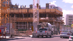 HD2008-7-8-29 constr site Stock Video Footage