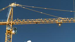 HD2008-7-9-6 crane Stock Video Footage