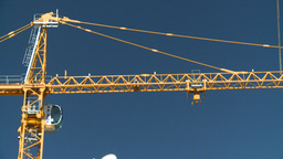 HD2008-7-9-6 crane Stock Video Footage