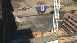 HD2008-7-9-12 const site Stock Video Footage