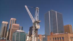 HD2008-7-9-18 crane TL Stock Video Footage