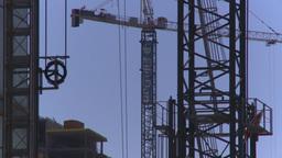 HD2008-7-9-26 crane Stock Video Footage