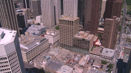 HD2008-7-9-41 aerial DT Cgy Stock Video Footage