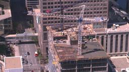 HD2008-7-9-44 aerial DT Cgy crane Footage