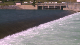 HD2008-7-14-13 weir Stock Video Footage