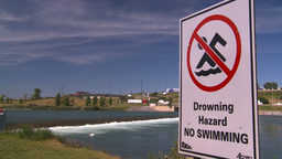 HD2008-7-14-15 drowning hazard Stock Video Footage