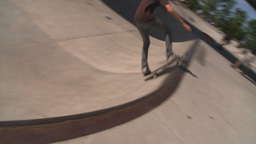 HD2008-7-14-27 skateboarder Stock Video Footage
